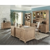 Florence Double Pedestal Desk with Rustic Finish by Donny Osmond Home
