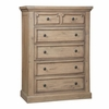 Florence Five Drawer Chest with Knob Hardware