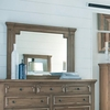 Florence Framed Mirror with Column Design by Donny Osmond Home