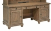 Florence Kneehole Credenza with Rustic Finish