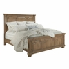 Florence Panel King Bed with Column Design by Donny Osmond Home