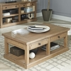 Florence Planked Coffee Table with Drawers