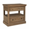 Florence Rustic Nightstand with USB Charging Portby Donny Osmond Home
