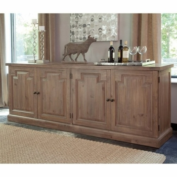 Florence Server with Raised Panels and Nested Drawers