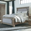 Florence Upholstered Panel King Bed