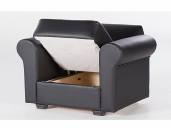 Floris Black Armchair Istikbal Furniture Stores