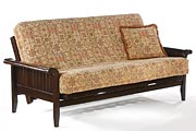 Loveseat Full bed Lounger Venice Moonglider Front Operating Futon Frame