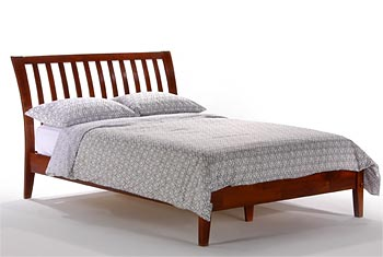 Full Sleigh-H Platform bed