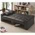 Futon Styled Sofa Sleeper with Casual Furniture Style