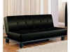 Futons Contemporary Armless Convertible Sofa Bed