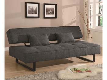 Futons Contemporary Armless Sofa Bed