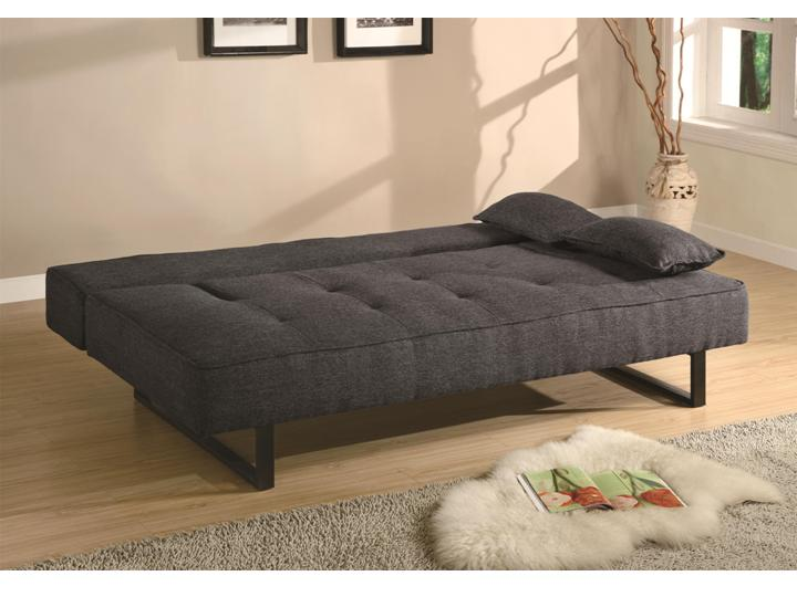 contemporary futon sofa sleeper living guest room Alexandria VA ...