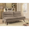 Futons Sofa Bed with Twill Fabric