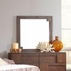 Gallagher 6 Drawer Dresser Mirror with Geometric Paneling