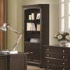 Garson Open Bookcase with Storage Cabinet Base 801015