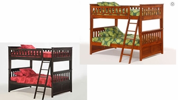 Ginger Full/Full bunkbed - 10 Year Warranty