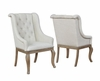 Glen Cove Arm Chair with Button Tufting and Nailhead Trim