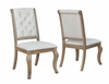 Glen Cove Dining Chair with Button Tufting and Nailhead Trim by Scott Living