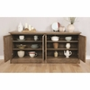 Glen Cove Traditional Server with Mirrored Door by Scott Living