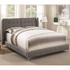 Goleta Full Upholstered Bed with Button Tufted Headboard