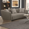 Grayson Contemporary Sofa with Angled Shelter Arms