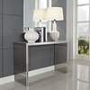 GRIDIRON CONSOLE TABLE IN SILVER 779