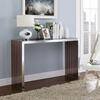 GRIDIRON WOOD INLAY CONSOLE 1431 TABLE IN WALNUT