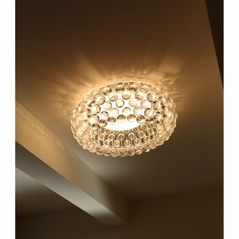"HALO 20"" CEILING FIXTURE IN CLEAR"