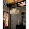 "HALO 20"" CHANDELIER IN CLEAR"
