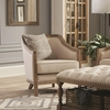 Hamilton Vintage Inspired Chair with Nailhead Trim and Wood Frame by Donny Osmond Home
