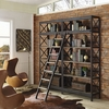 HEADWAY WOOD BOOKSHELF IN BROWN