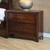Hillary and Scottsdale 2 Drawer Nightstand