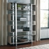 Home Accents Contemporary Bookcase with Geometric Design