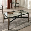 Home Accents Glass Top Coffee Table