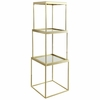 Home Accents Three Piece Brass Etagere