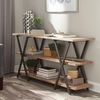 Home Accents X-Base Two-Tone Console Table