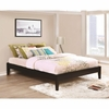 Hounslow Twin Platform Bed in Cappuccino Finish