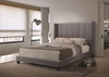 Hudson King Upholstered Bed