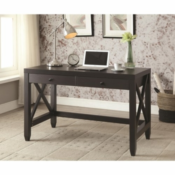 Humfrye Computer Desk with Two Drawers