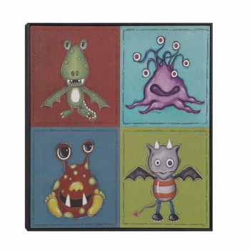 Imaginary Friends Wall Art