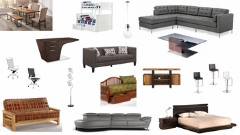 Furniture Stores Platform Futons Beds Modern Dc