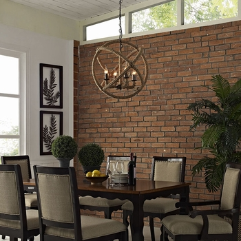INTENTION CHANDELIER IN BROWN 1575