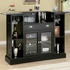 Inwood Contemporary Bar with Wine Rack and Stemware Storage