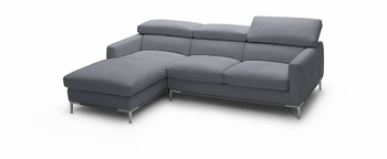 J&M 1281b Italian Leather Sectional