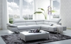 J&M 1717 Italian Leather Sectional