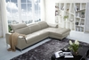 J&M 1727 Premium Leather Sectional