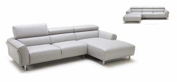 J&M 1972 Premium Leather Sectional