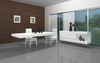 J&M Cloud Modern Dining Table in High Gloss