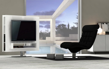 J&M Amora Premium Swivel TV Unit