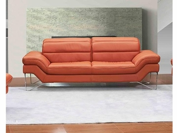 J&M Astro Italian Leather Sofa